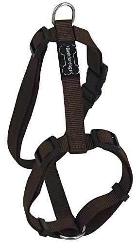 Harnais pour chien Basic Line Wouapy, Harnais Marron de 74/117 cm
