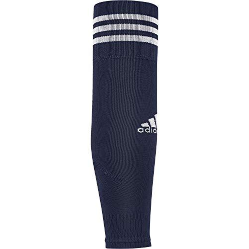 adidas Kinder Team Sleeve 18 Stutzen, Dark Blue/White, EU 34-36