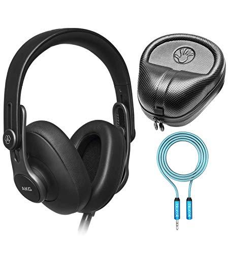 AKG Pro Audio K371 Over-Ear Closed-Back Foldable Studio Headphones for Mobile...