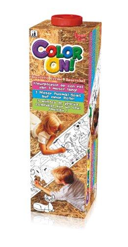 University Games 82206 Color On! - Libro para Colorear, diseño de la Granja