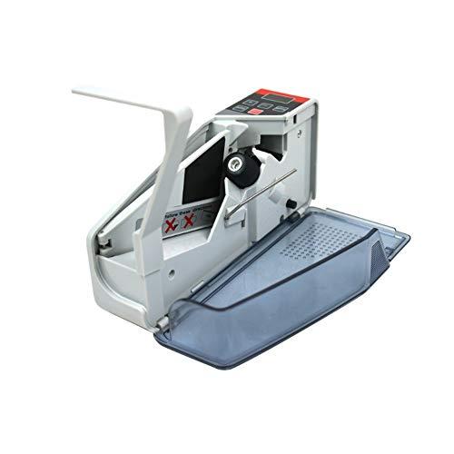 HIZLJJ El Dinero de Mano Contador de Billetes de conteo máquina portátil de Efectivo Billete de dólar contadora de Billetes, 2 Formas de Trabajar (de Carga o de la batería)