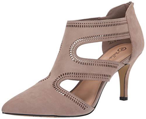 Bella Vita Women's Pump, Almond Suede Leather, 12 W US