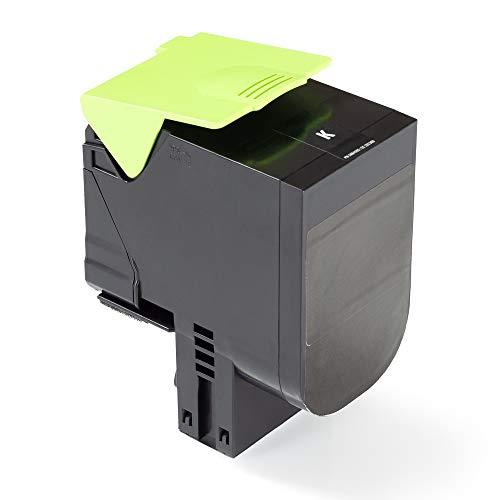 Green2Print Tóner de alto negro 3000 páginas sustituye a Lexmark C232HK0 Tóner de alto apto para la Lexmark MC2325adw, MC2325, MC2425adw, MC2425, MC2535adwe, MC2535, MC2640adwe, MC2640, C2325DW