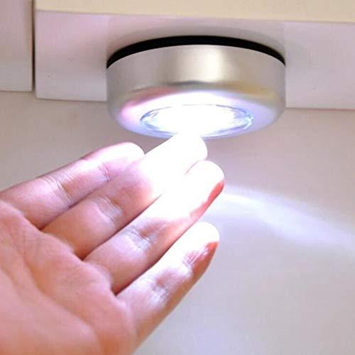 Jinyi Luz de Noche, luz de Armario, 5 Piezas para Salas de Almacenamiento Cajas de Herramientas Cobertizos de Trabajo Lofts
