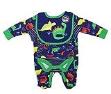 Jack and Lily Baby Jungen Kleidung Set aus Baumwolle und Geschenktasche Dinosaurier Gr. Neugeborene, Multi