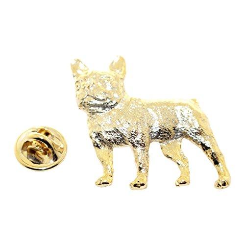 Sarah's Treats & Treasures French Bulldog Pin ~ 24K Gold ~ Lapel Pin