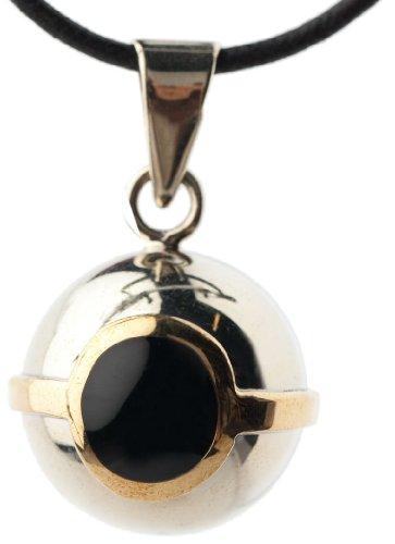 Babylonia VK640 Bola Ring, schwarz/gold