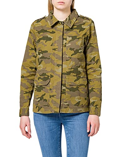 Only ONLALLY Life Utility Jacket CC OTW Anorak, Martini Olive AOP:Camo, M para Mujer