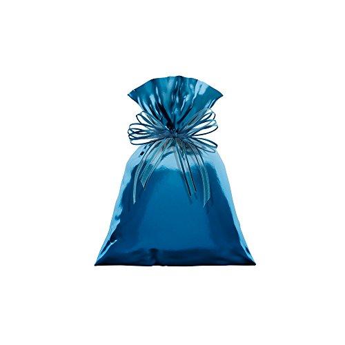 Regina Saco Metalizado 20x29cm Azul, 50 Unidades