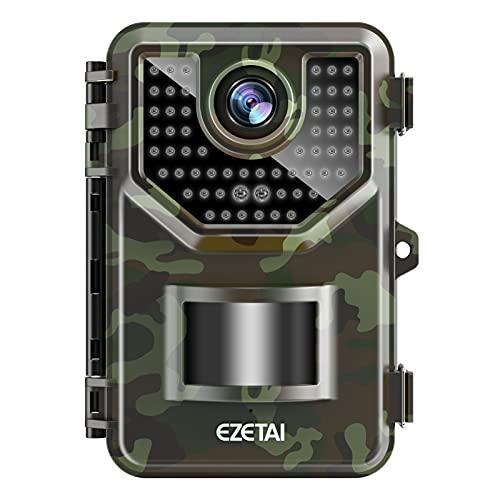 EZETAI 20MP Wildlife Camera 1520p Trail Game Camera 0.2s Trigger Speed...