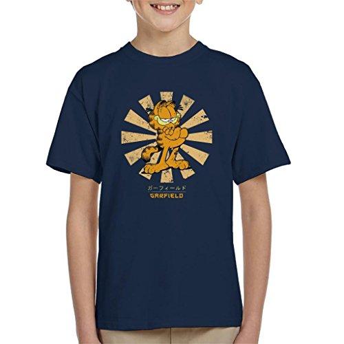 Garfield Retro Japanese Kid's T-Shirt