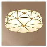 Hong Yi Fei-Shop Lámpara de Techo Lámpara de Techo Redonda Moderna Simple Lámpara de Techo Simple Creative Sala de Estar Lámpara Redonda Lámpara de Sala de Estar lámpara de Techo led