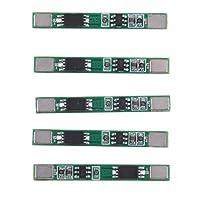 5個 リチウム電池 PCB保護ボード 3.7V 3A 1S 耐久性 安全 交換用品