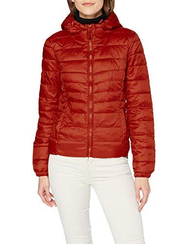 ONLY Damen Onltahoe Hood Jacket OTW Noos Jacke, Picante, M