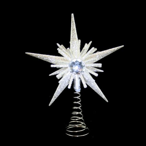 Christmas Direct Small Silver Tree Topper