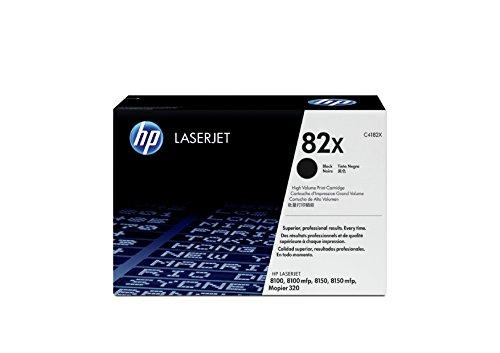 HP C4182X - Cartucho de tóner original LaserJet HP 82X de alta capacidad negro
