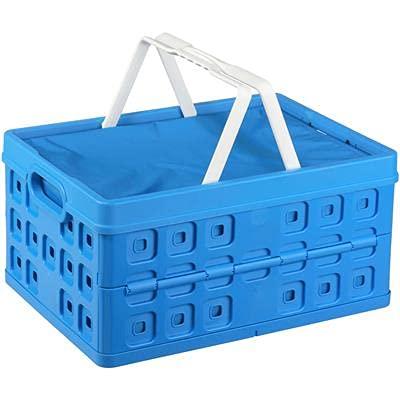 Caja plegable con isotérmico y doble asa resistente