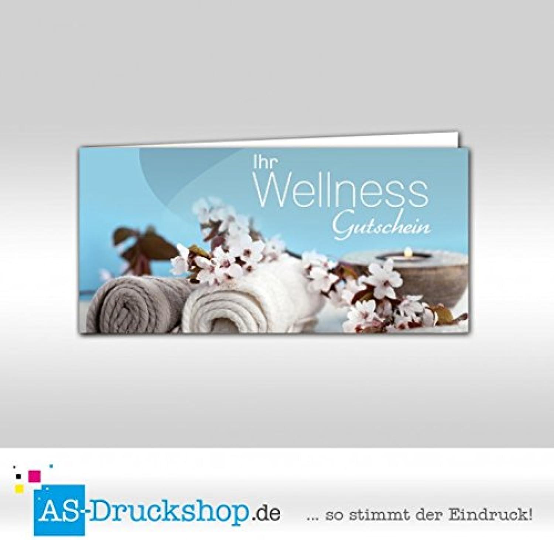 Gutschein Wellness - Handtuch   100 Stück   DIN Lang B0794Y94CJ     Großartig