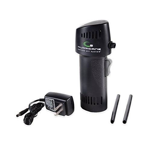 Best Canned Air Alternative - Cordless O2 Hurricane 220+ MPH Canless Air Industrial Black is an Inexpensive, Environment Friendly Alternative to Compressed Air/Computer Dusters. Equal to 1000+ cans