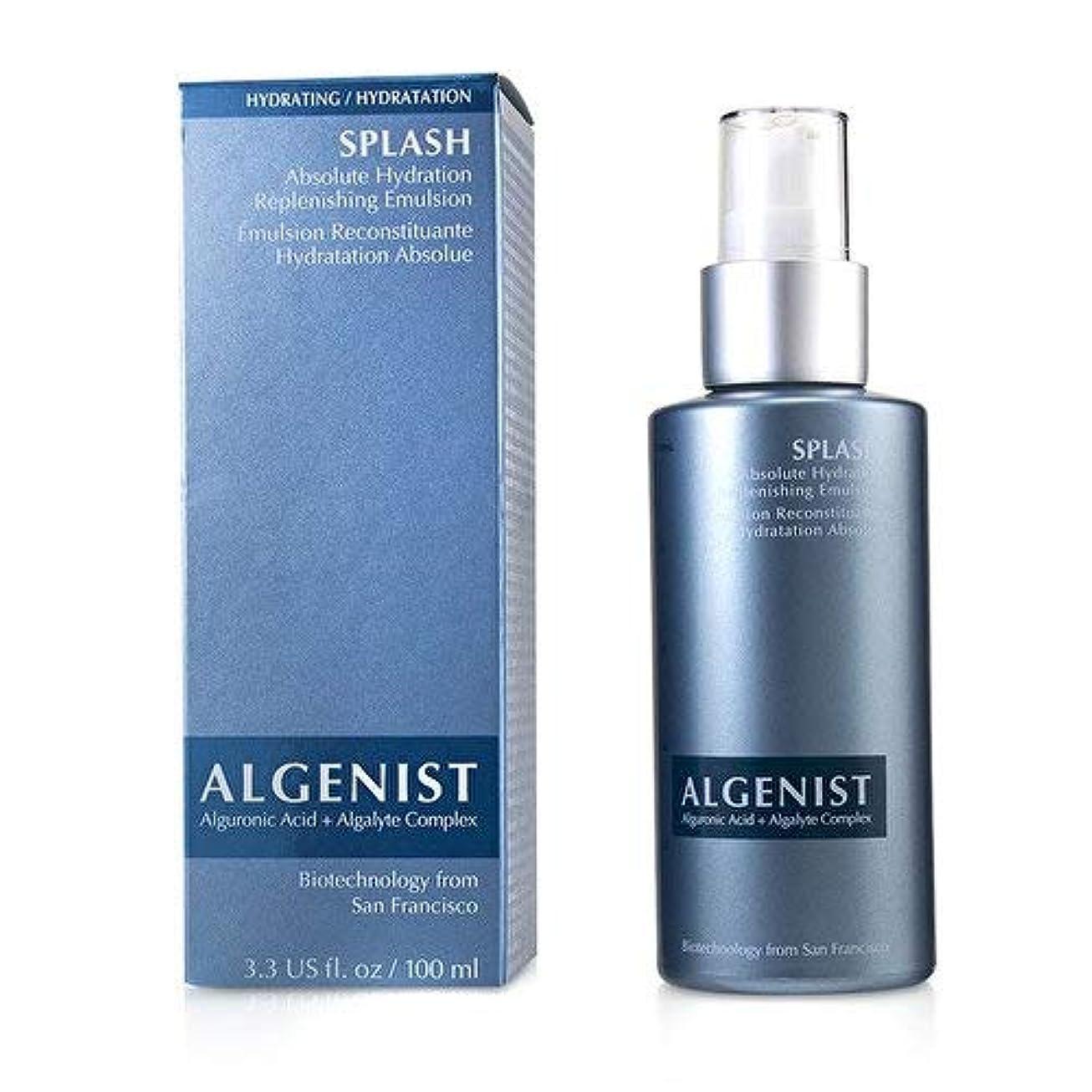 喜ぶ花嫁偶然のアルゲニスト SPLASH Absolute Hydration Replenishing Emulsion 100ml/3.3oz並行輸入品