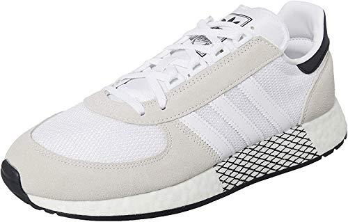 adidas Marathon Tech, Zapatillas Hombre, Blanco FTWR Blanco FTWR Blanco Core Negro 10013523, 42 EU