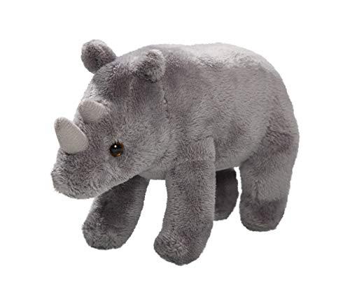 Carl Dick Rinoceronte de pie Aproximadamente 18cm de Largo, Aproximadamente 11cm de Alto, Peluche 3411004