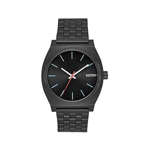 nixon smartwatch Nixon Orologio Analogico Quarzo Uomo con Cinturino in Acciaio Inox A045-2790-00