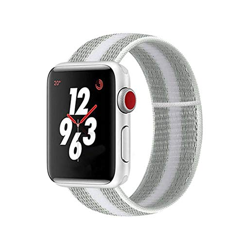 AISHANG Correa De Bucle Deportivo para Apple Watch Band 44Mm 42Mm para Iwatch Band 38Mm 40Mm 44 Mm Serie 6/5/4/3/2/1 Pulsera Nylon Weave Watchband, China, B-9