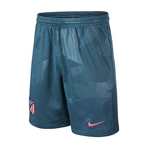 Nike - Pantalón Corto de niños 3ª equipación atlético de Madrid 2017-2018 Breathe...