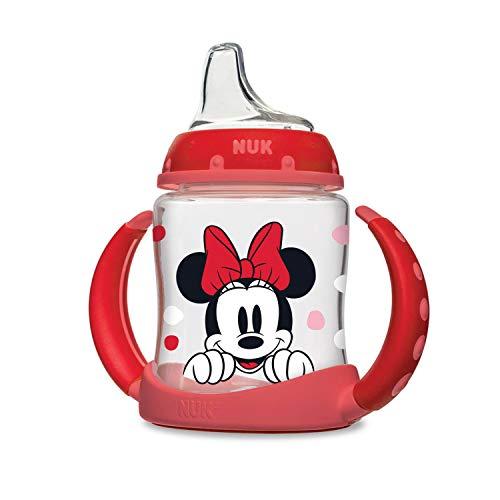 NUK Disney Baby Bottle, Minnie Mouse, 10oz 3pk Now $7.00 (Was $19.99)