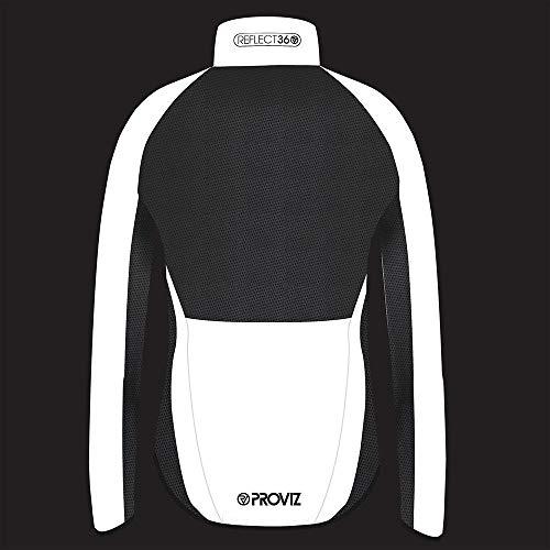 Proviz Women's Reflect360 100% Reflective, Windproof Performance Cycling Jacket