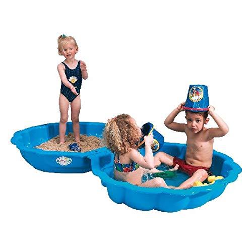 IMP 703 - Paradiso Toys Sand/Wassermuschel, 2-teilig, blau