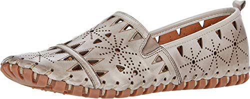 Spring Step Women's Fusaro Slip-On Shoe Grey EU 40 / US 9