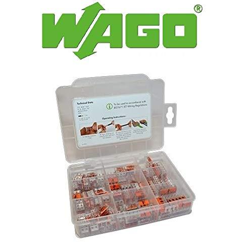 WAGO 221 Serie Terminalauswahlbox Kompakthebelkasten 60281155, Mini Anschlusskabelhalterung, 450 V von Gas N Pow3r
