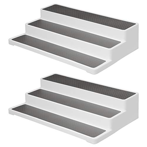 Mxzzand Porta Especias Impermeable Fácil de Limpiar Duradero para Baño 2PCS