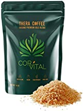 Cor-Vital 1lb Coffee Enema - Organic Enema Coffee - Best Organic Coffee for Enema - Gerson Approved Therapy Roast Coffee Detox Cleanse - Liver Cleanse Detox & Repair - Mold Free Coffee Colon Cleanse