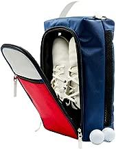 Zippa Golf Shoe Bag I Keep Your Car Clean I Large Ventilation, Pockets for Tees, Balls I Golf Shoe Bag for Women and Men I Golf Accessories for Men, Golf Shoes Bag, Golfing Accessories Trunk Organizer