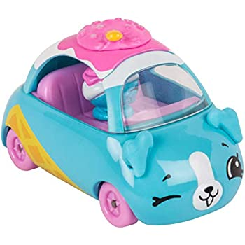 SHOPKINS CUTIE CARS # 6 SUNDAE SCOOTER WITH M   Shopkin.Toys - Image 1
