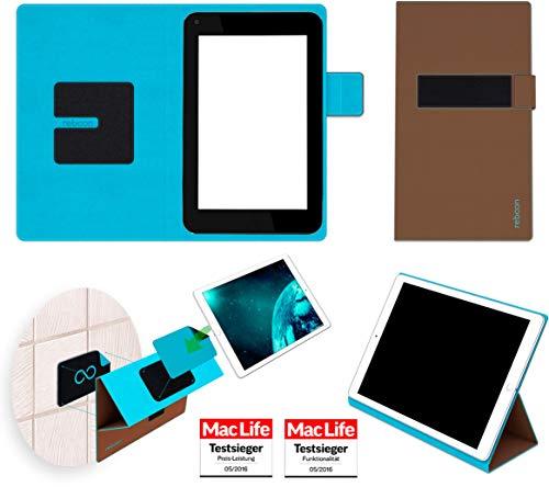 Hülle für HP Slate 7 Plus Tasche Cover Hülle Bumper | in Braun | Testsieger