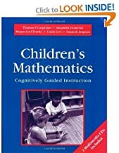 Childrens Mathematics/Cognitively Guided Instruction:(by book's seller)