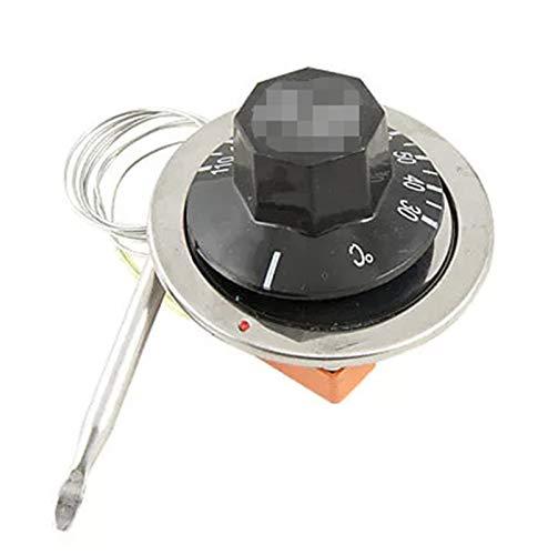 Hsmin AC 250V 16A 30-110C Termostato capilar de Control de Temperatura Ajuste para Horno eléctrico