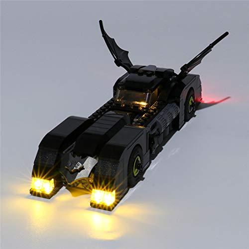 Teakpeak Juego de luces LED clásicas para Lego, compatible con Lego Batman Batmobile: Pursuit of The Joker 76119, no incluye kit Lego