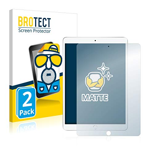 BROTECT 2X Entspiegelungs-Schutzfolie kompatibel mit Apple iPad Air 2019 (3. Generation) Bildschirmschutz-Folie Matt, Anti-Reflex, Anti-Fingerprint