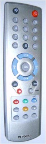 Ersatz Fernbedienung für RC0896 passend für DCO  -  Digenius  -  Eurosky  -  Europhon  -  Fersat - Gran Prix  -  Hirschmann  -  Lasat  Medion  Pollin  Schneider Silva Schneider  -  SKY  -  SL  -  Thomson  -  Universum Sat receiver