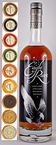 Eagle Rare 10 Jahre Kentucky Straight Bourbon Whiskey + 9 Edelschokoladen in 9 Sorten