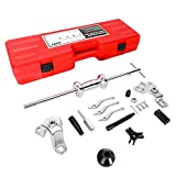 Orion Motor Tech 9-Way Slide Hammer Puller Set, Front Wheel Hub Bearing Remover & Rear Wheel Axle Hub Dent Shaft Puller Tool Kit