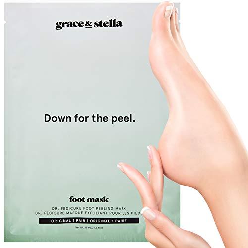 Maschera per il piede Esfoliazione Pedicure | Per...