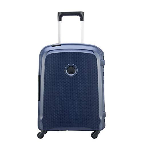 DELSEY Paris Belfort 3 Maleta, 55 cm, 44 litros, Azul
