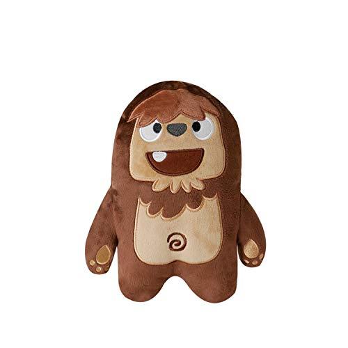inooko - Mountain Folks, Joey Le Bigfoot, Jouet en Peluche Toute Douce et résistante pour Chien. Eco-Friendly. Taille M (20 x 15 cm)