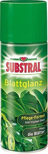 Substral Blattglanz, Blattglanzspray für alle Grünpflanzen, 200 ml Sprühflasche
